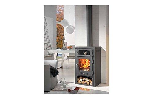 Panadero M288838 - Estufa de leña aragon con horno: Amazon.es: Hogar