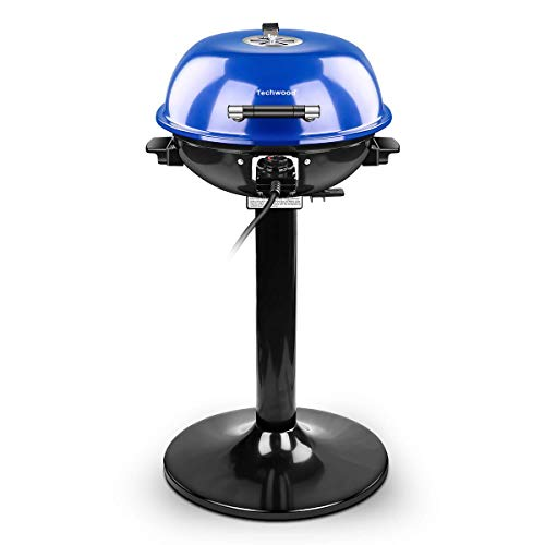 Techwood 15-Serving Electric Grill Indoor/Outdoor Electric BBQ Grill