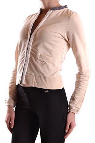 Etiqueta Negra Cardigan Donna MCBI118063O Cotone Beige