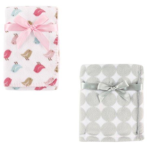 Coral Fleece & Fleece Blanket 2-Pack