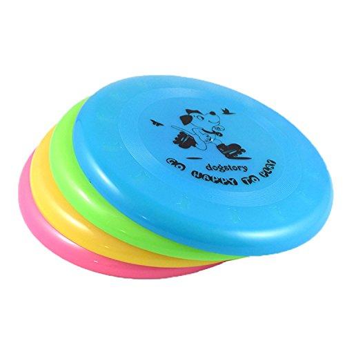 Genluna Pet Training Standard Frisbee for Dog Free random