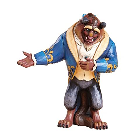 Disney Traditions by Jim Shore 4013251 The Beast and the Prince Double Sided Figurine 10-1/2-Inch (Disney Traditions Beast)