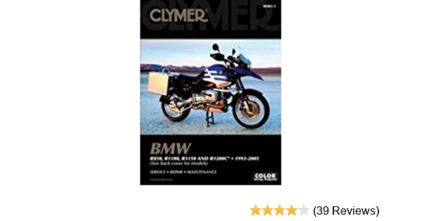 [clymer bmw r850, r1100, r1150 and r1200c, 1993-2005 (clymer color wiring  diagrams)] [author: clymer publications] [august, 2006] paperback – august  6, 2006