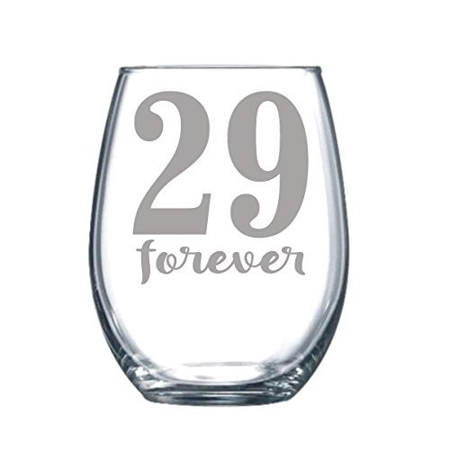 forever 29 wine glass - 1