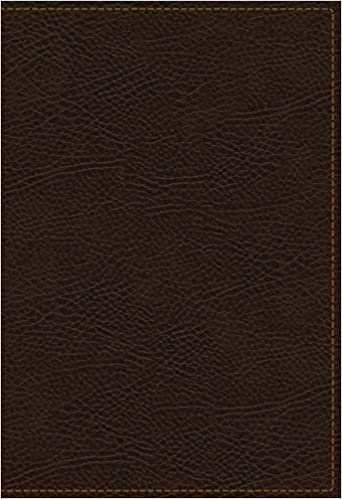 KJV, The King James Study Bible, Bonded Leather, Brown, Red Letter