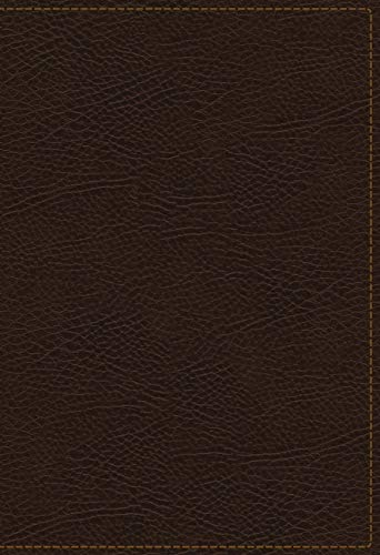 KJV, The King James Study Bible, Bonded Leather, Brown, Red Letter, Full-Color Edition: Holy Bible, King James Version (Best Bible For Bible Study)