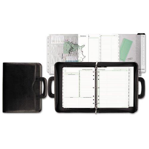 Avalon Simulated Leather Starter Set, 8 1/2 x 11, Black