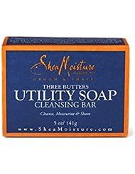 Shea Moisture Men's Utility Soap, 5 Ounce (5 Pack)
