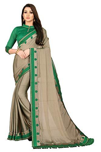 Aai shree khodiyar Self Design Bollywood Silk Blend Saree