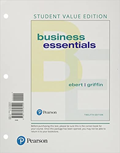 Amazon business essentials student value edition 12th edition business essentials student value edition 12th edition 12th edition by ronald j ebert fandeluxe Choice Image