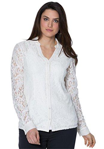 Jessica-London-Womens-Plus-Size-Lace-Shirt