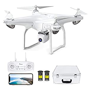 Potensic D58 FPV Drone with 2K Camera for Adults, 5G WiFi HD Live Video, GPS Auto Return, RC Quadcopter for Beginners…