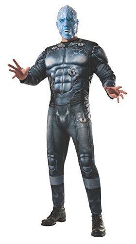 Rubie's Costume Men's Marvel Universe, The Amazing Spider-man 2 Deluxe Electro Costume, Multicolor, X-Large