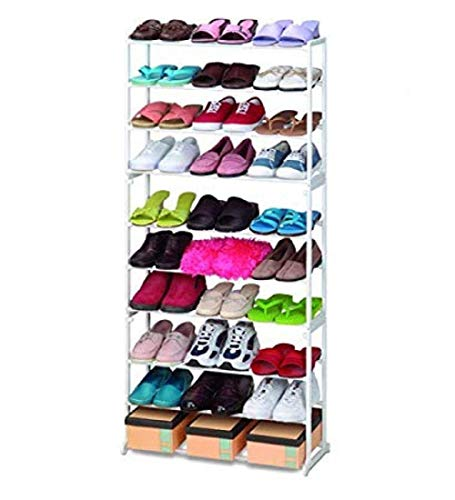 Twiclo Shoe Rack Easy Assembled Fabric Shoe Tower Stand