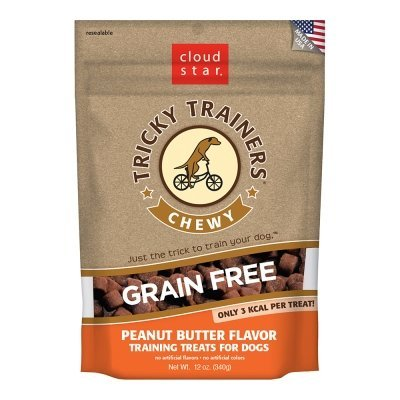 Cloud Star Tricky Trainers Chewy Grain Free Peanut Butter – 12 Oz Review