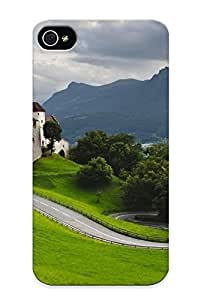 Awesome Case Cover/iphone 4/4s Defender Case Cover(roadside Castle ) Gift For Christmas