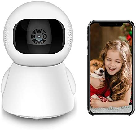 Security Cameras Indoor WiFi Pet Camera, 1080P HD Home Camera for Dog/Nanny/Elder/Baby Monitor, Surveillance IP Camera with Smart Night Vision/2 Way Audio/Motion Detection