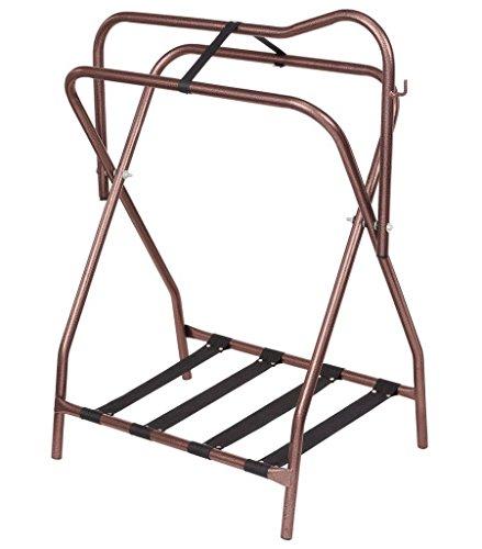 Tough1 Folding Saddle Rack 2-Pack Bronze ()