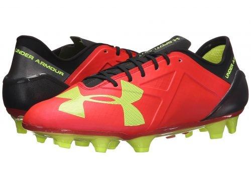 重量メディカルパンフレットUnder Armour(アンダーアーマー) メンズ 男性用 シューズ 靴 スニーカー 運動靴 UA Spotlight FG - Rocket Red/High-Vis Yellow/Black 13 D - Medium [並行輸入品]