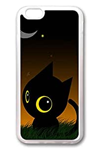 iPhone 6 Cases (5.5 inch) - New Best Rubber Bumper Clear Covers The Night Black Star