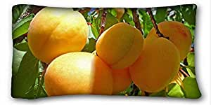 Generic Personalized Nature Custom Cotton & Polyester Soft Rectangle Pillow Case Cover 20x36 inches (One Side) suitable for X-Long Twin-bed