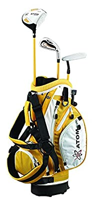 """Founders Club ATOM Complete Junior Golf Set, Youth 36-45"""" tall, Ages 3-6, Right-handed"""