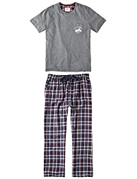 Men's Checked Pyjama Set