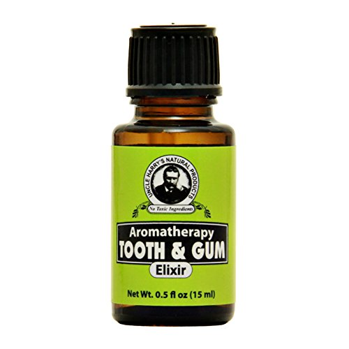 Uncle Harry's Natural Tooth & Gum Elixir Essential Oils Blend, 0.5 Fl Oz