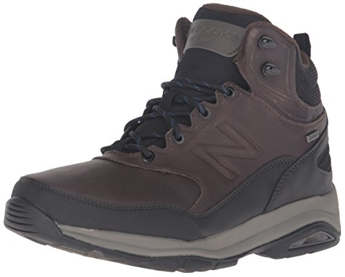 New Balance Men's MW1400v1 Walking Shoe, Dark Brown, 9.5 4E US