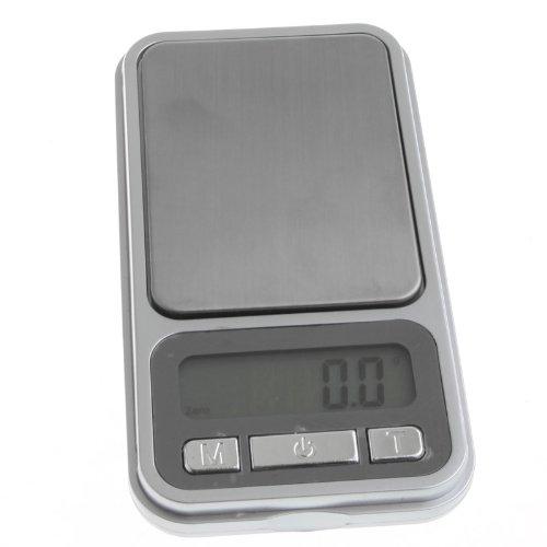 Kingzer Silver Mini Digital Pocket 0.01g 100g Jewelry Diamond Scale LCD Weight Balance by KINGZER