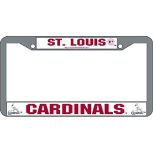 Rico Industries Ric2CLP-StL St. Louis Cardinals MLB Chrome License Plate ()