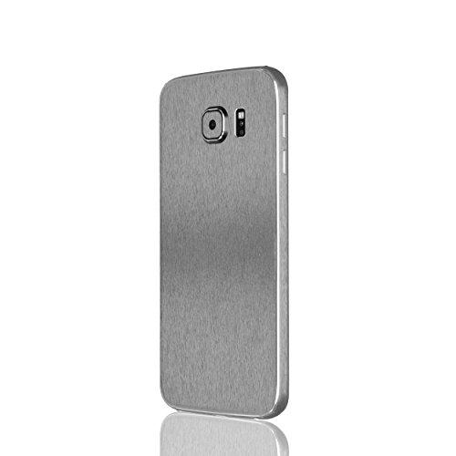 AppSkins Rückseite/Seitenteile Samsung Galaxy S6 Metal steel