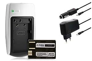 Batería + Cargador BP-511 para Canon EOS 5D 10D 20D 30D 40D 50D 300D D30 D60 / Powershot... ver lista!