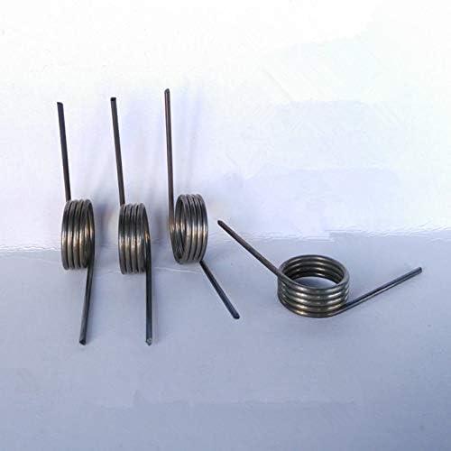 ZZB-LSTH, 10PCS Spiral verstellbaren Feder-Edelstahl-Torsion Spring, 1,4 mm Durchmesser, Draht x16.5mm Out Durchmesser x (40-90) mm Länge (Size : 1.4x16.5x70mm)