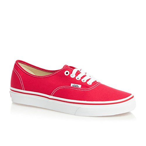 Vans Authentic, Zapatillas de Tela Unisex love me x vans red
