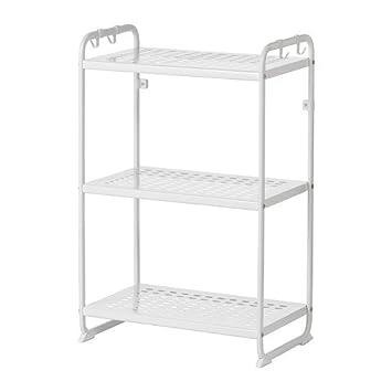 Ikea Mulig Regal In Weiss 58x34x90cm Amazon De Kuche Haushalt