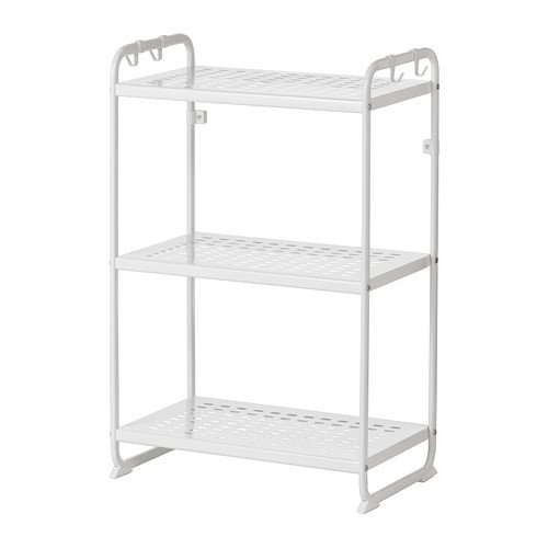 Ikea Mulig Regal In Weiß 58x34x90cm Amazonde Küche Haushalt