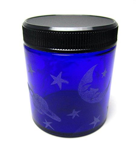 Hand Etched Decorative Jar Permanently Sandblasted (Sand ...