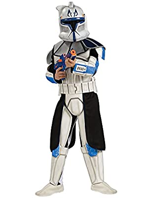 Star Wars Clone Wars Clone Trooper Child's Deluxe Captain Rex Costume