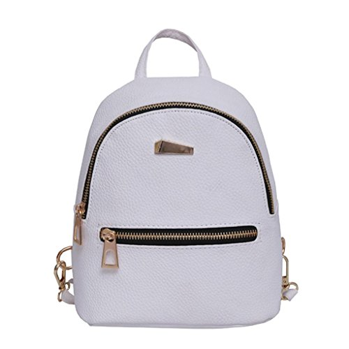 Hot Sale Backpack Travel Handbag,Rakkiss Women's New School Rucksack Shoulder Bookbags Leather Handbag Crossbody Bags