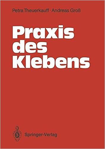 Book Praxis des Klebens