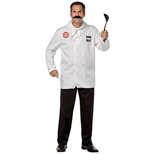 Soup Nazi Costume - One Size - Chest Size (Nazi Halloween Costume)