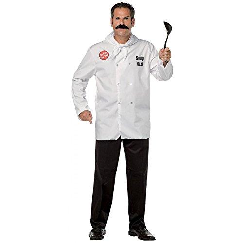 Nazi Halloween Costumes (Soup Nazi Costume - One Size - Chest Size 48-52)