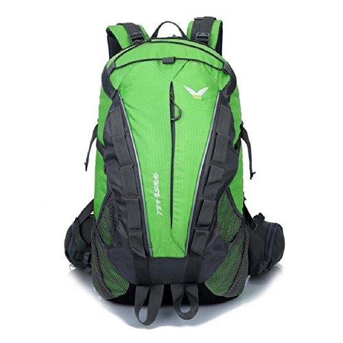 ZC&J Estilo europeo mochila escalada, de alta calidad de nylon impermeable anti-lágrima anti-multi-funcional mochila, los hombres y las mujeres general mochila,G,36-55L D