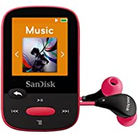 SanDisk - SDMX24-008G-A46P - Clip Sport 8GB MP3 Player Pink