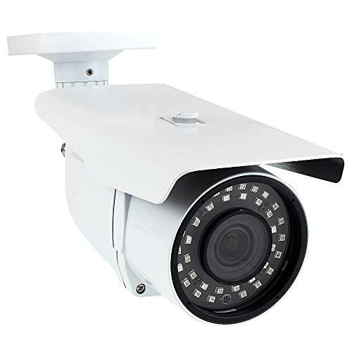 GW Security 5 Megapixel 4-in-1 HD TVI/AHD/CVI / (5MP/4MP/2MP 1080P/960H 1200TVL) CCTV Outdoor Indoor Bullet Security Camera with 2.8-12 mm Varifocal Zoom Lens, 196-Feet IR Distance