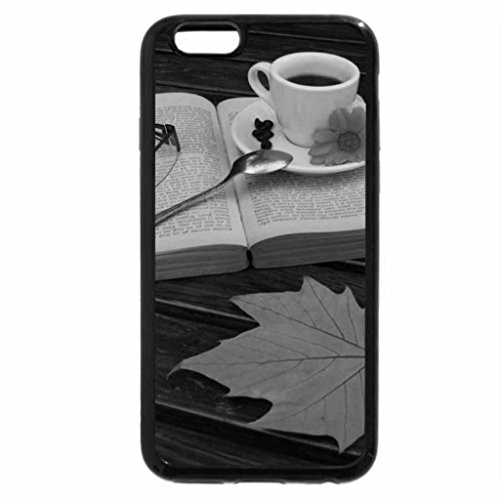 iPhone 6S Case, iPhone 6 Case (Black & White) - Late Autumn Coffee