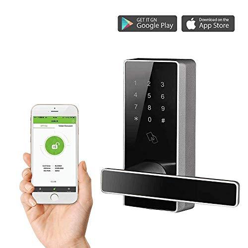 Bluetooth Door Locks Keyless Digital Keypad Lock Smart