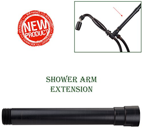 High Sierra's Exclusive All Metal Shower Arm Extension - Oil