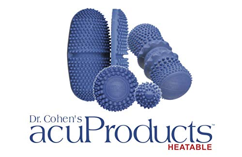 Dr. Cohen's Heatable acuBall - Deep Tissue Massage Set Deluxe for Muscle Pain